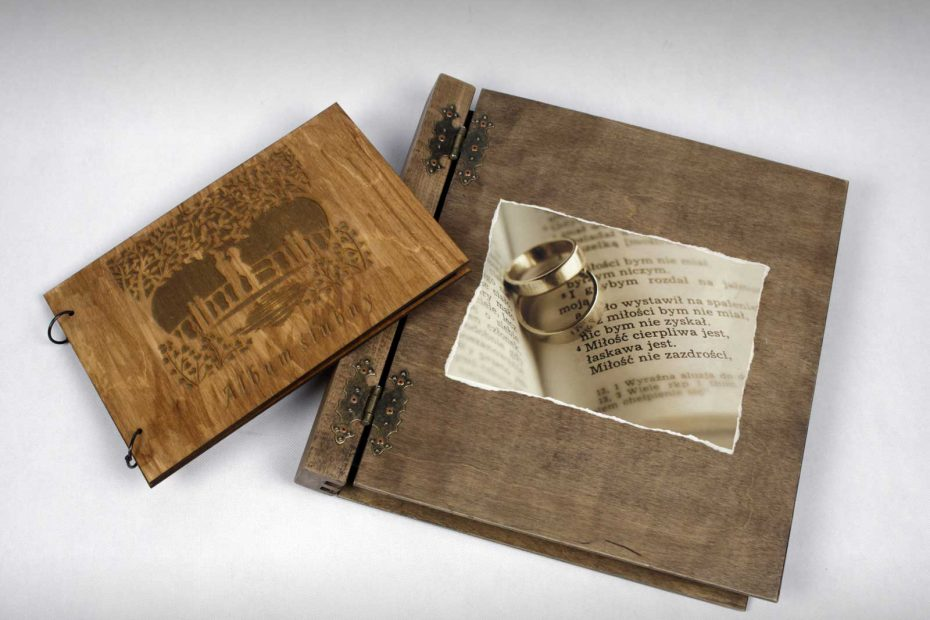 Książka album wesele